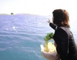 海洋葬・散骨|日本のエーゲ海・牛窓沖でのご葬儀